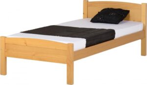 Amber bed 3ft  single frame in pine