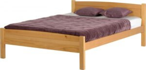 Amber Double Bed in Antique Pine